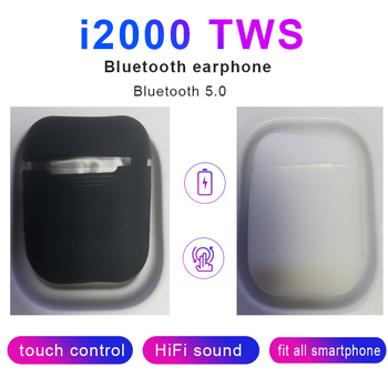 2020 new i2000 TWS wireless Bluetooth headset for Android Apple Samsung PK i500 i30X i18 i1000 i9000pro i7S i14