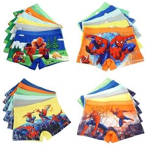 4pcs/lot Boys Baby Boy Children Underwear Boxers Underpants Kids Panties Panty Briefs Infant Teenagers 3-8Y