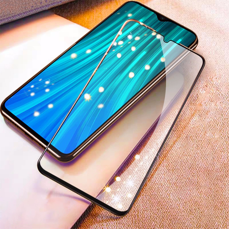 9D Full Protective Glass On The For Xiaomi Redmi 8 7 7A 8A K20 K30 Redmi Note 8 8T 7 Pro Pocophone F1 Tempered Screen Glass Film 3
