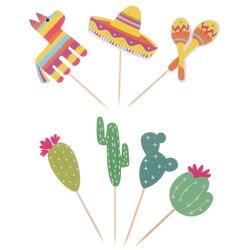 Alpaca decoração de bolo, inserções de bolo para decoração de bolo, presente para aniversário das crianças, decoração de casamento