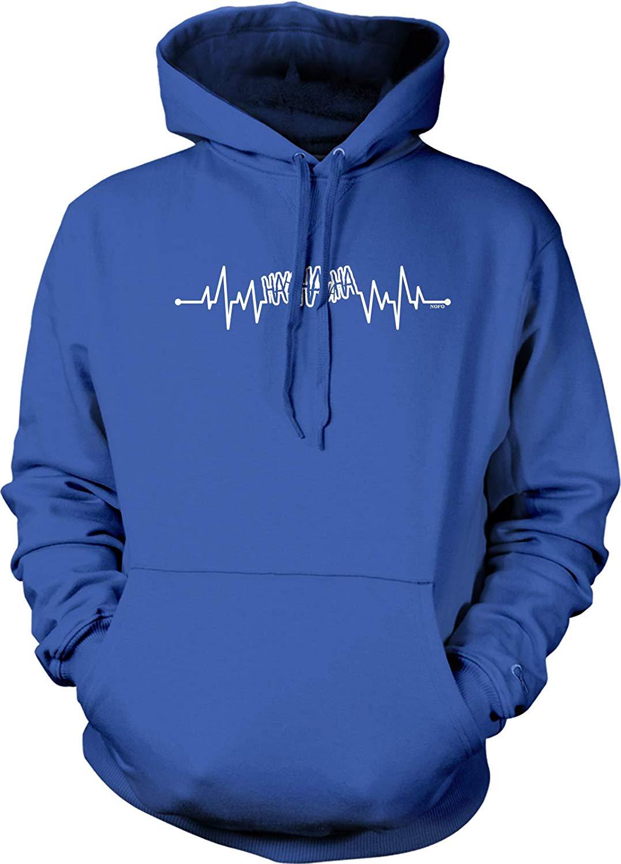 TSDFC Joker Hahaha Heartbeat Hooded Sweatshirtunisex Men Women Hoodie