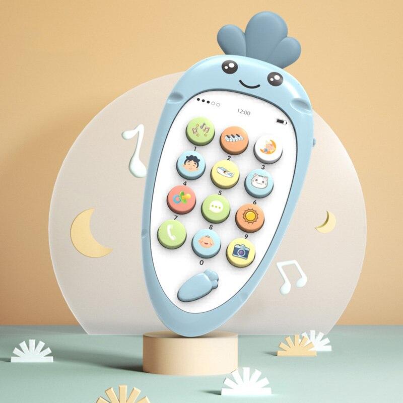 Electronic font b Toy b font Cartoon Phone font b Kid b font Mobile Phone Cellphone