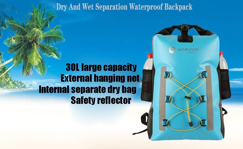 à prova ddry água separação seco-molhado