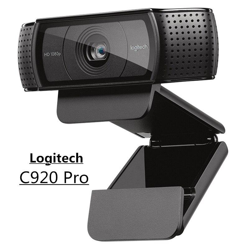 Original Logitech C925e/C920/C922/ OEM HD Webcam 1080P/30fps Built-in Micphone USB 2.0 Video Web Computer Camera For Laptop PC