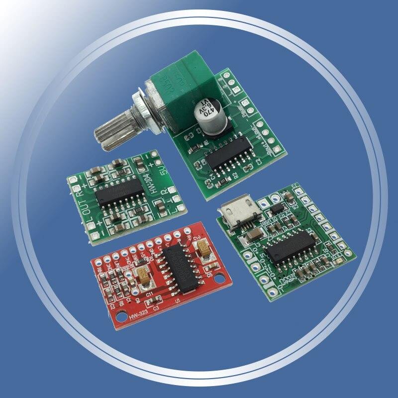 Плата цифрового усилителя мощности PAM8403, миниатюрная Плата усилителя мощности класса D, 2*3 Вт, 2,5 ~ 5 В, USB-источник питания