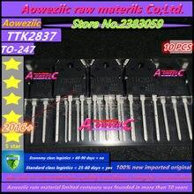 Aoweziic 2016 + 100 ٪ جديد المستوردة الأصلي K2837 TTK2837 TO 247 العاكس لحام إصلاح أجزاء 500 فولت 20A