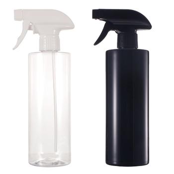 1pcs 500ml Plastic Multicolor Cosmetics Black Spray Bottle Fine Mist Sprayer Atomizer Bottles Refillable Pot Makeup Container