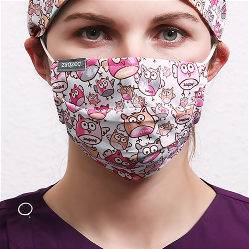 Fashion Colorful Mouth Masks Work Masks Anti Dust Mask Cotton Fabric Masks  For Women