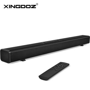 Sound Bar for TV, 32-Inch Soundbar Wired & Wireless Bluetooth 5.0 Speaker, 3D Surround Sound Home Theatre System, Wall Mountable(China)