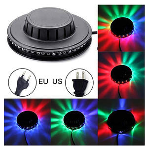 Light-Bar Christmas-Party-Lamp Sunflower Stage RGB Leds 48 Laser-Projector-Lighting Background