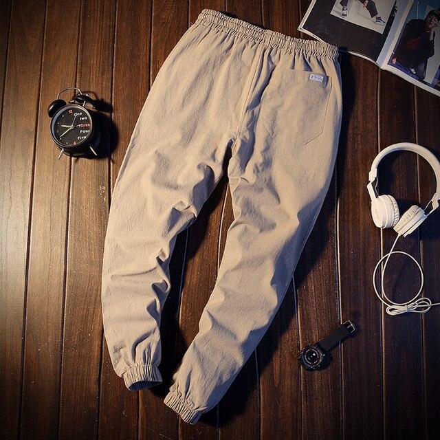 Pantalones largos informales populares para hombre, venta al por mayor, novedad, otoño e invierno, a la moda, MC365, 2019 4