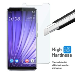 На Алиэкспресс купить стекло для смартфона for htc exodus 1 u12 u11 plus u19e tempered glass 9h 2.5d premium screen protector film for htc wildfire e