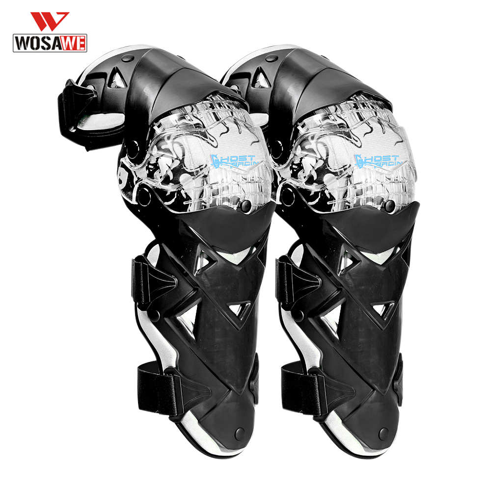 Genouillères moto protecteur Motocross genouillère soutien protège-tibia genouillère jambières patinage Skateboard genouillère protection de Ski