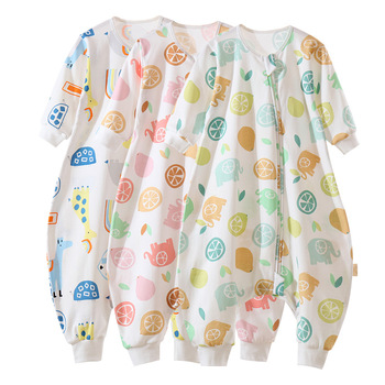 Slaapzak Baby Sleeping Bag Summer Legs Infant Sleepsacks Autumn Spring Toddler Sleep Bag Thick Warm Cotton Kids Anti-kick Quilt dile baby sleeping bag soft cotton autumn child sleep suit soft baby sleepsacks dogs clothes autumn winter