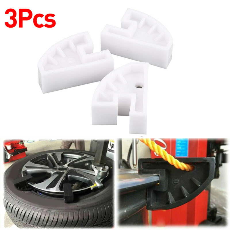 Simple And Convenient Design 3Pcs Tire Changer Bead Drop Center Depressor Tool Universal Rim Clamps In White,Black
