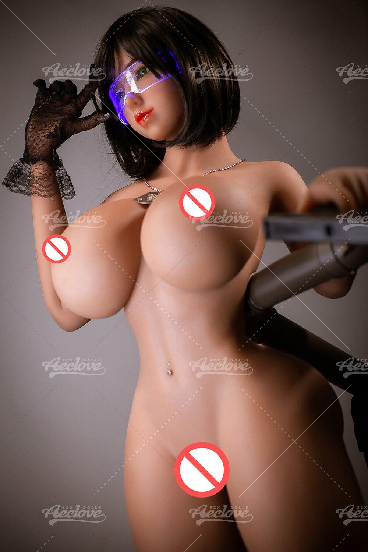 Hf1129184a976444fa59947a452049f380 Aeclove-muñeco gordo de sexo para hombre, Morena de TPE de 153cm, Con pechos gigantes, culo enorme, Vagina, Anal