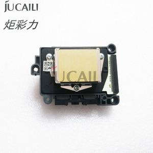 Image 2 - Jucaili מקורי DX7 הדפסת ראש סמארטפון/ראשון/שני נעול F1890010 ראש הדפסה עבור EPSON Allwin Xenons אקו ממס מדפסת