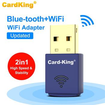 CardKing 150 mb s Mini Adapter USB WIFI 2 4Ghz Bluetooth bezprzewodowy komputer stacjonarny odbiornik WiFi Wi-Fi USB karta sieciowa Ethernet tanie i dobre opinie NoEnName_Null 150 mbps Rohs CN (pochodzenie) Wewnętrzny wireless Laptop 802 11a g 802 11n USB2 0 KW-6101N Windows XP Vista Win7 8 1 Linux Mac