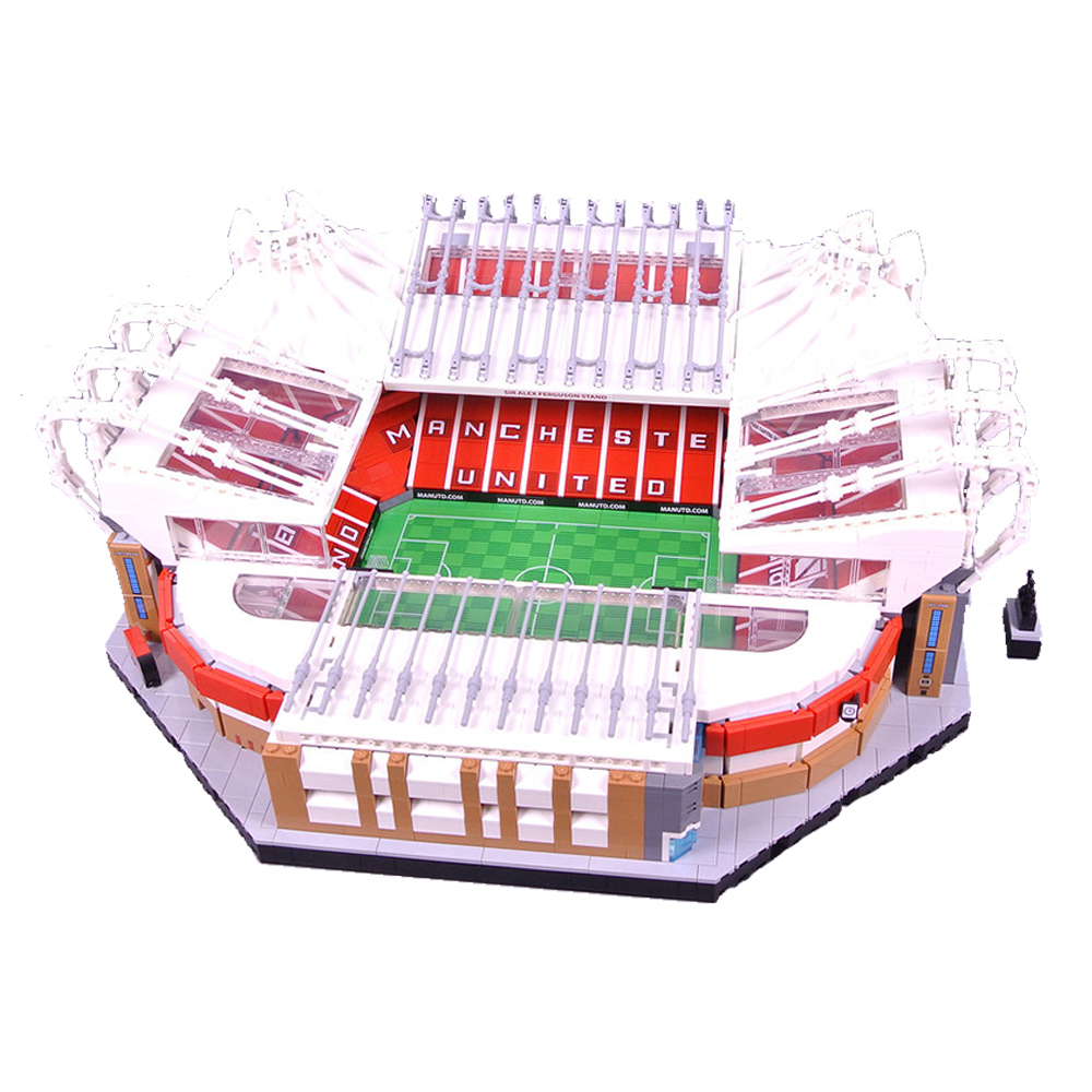 10272 Old Trafford Manchester 3908PCS Creator City Street View Model Building Kits Blocks Bricks Toys Kids Gift 10202