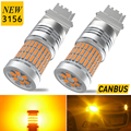 2X No Hyper Flash 3156 P27W W21W P21W BA15S LED Auto Turn Signal Light Amber For Mercedes w204 w213 w211 w205 w212 w203 Benz