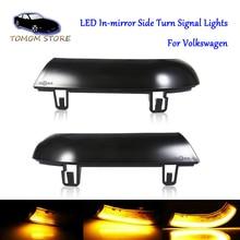 led dynamic indicator side turn signal lights in mirror for Volkswagen Golf 5 Bora Golf 5 6 plus GTI MK5 EOS Jetta MK5 Passat