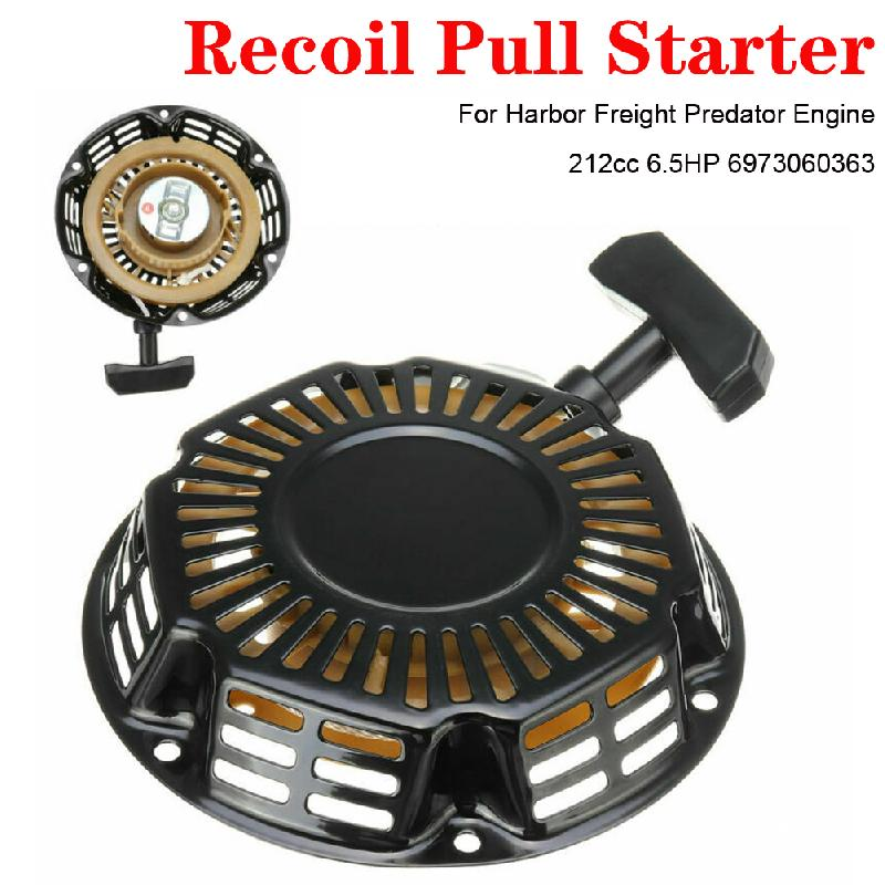 Rewind Pull rozrusznik odrzutowy kosiarka do trawy dobrej jakości szybka instalacja wygodny do silnika portowego Predator 212cc 6.5 km