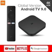 TV Box originale Xiaomi Mi Box S 4K HDR Android TV 9.0 Ultra HD 2G 8G WIFI Google Cast Netflix IPTV Set Top Box 4 Media Player