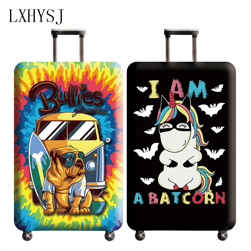 New Thicken Luggage Cover Elastic Luggage Protective Covers For 18-32 Inch Suitcase Case Baggage Cover Travel Accessories