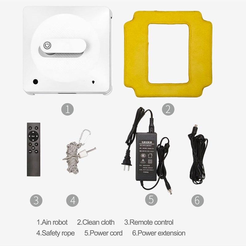 Xiaomi bobot limpador de janela de alta altitude robô janela limpeza robô aspirador de pó 3 modos de trabalho app/remoto com corda de segurança - 5