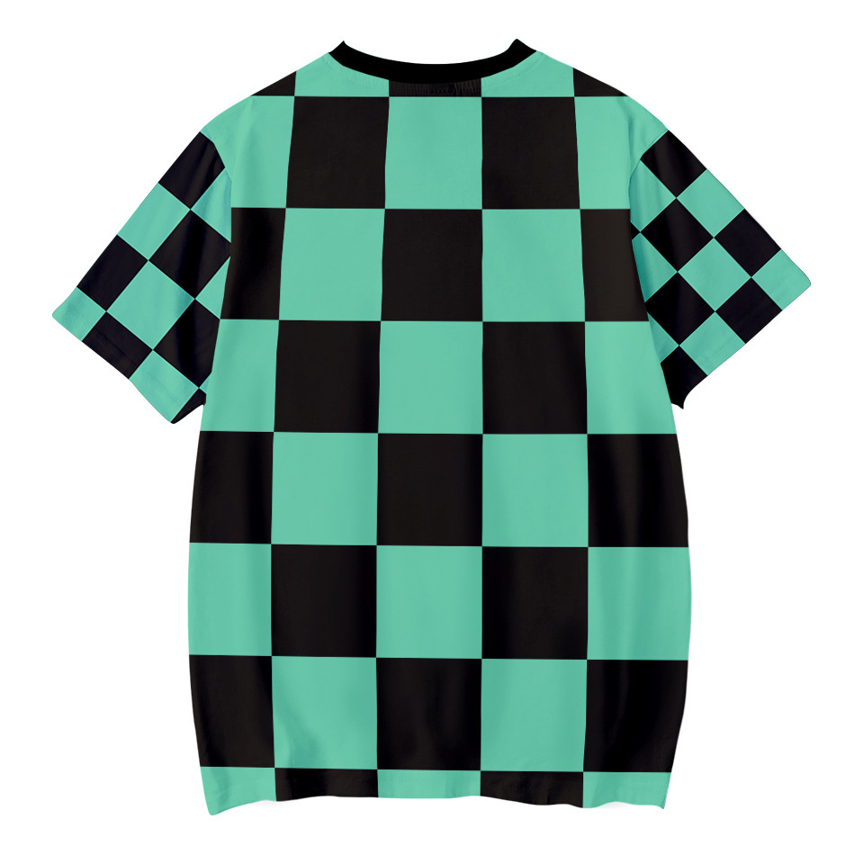 Hf1139750b576487c8e3fcce7e0a6b8e9A Kids Boys Devils killer T-shirts 3d Print Cosplay Japanese Ghost blade Children Summer Short Sleeve Tshirts Demon Slayer Clothes