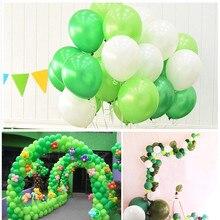 лучшая цена 10pcs Apple green Pastel Balloons Garland Kit Decoration Pink White Red Balloon Garland Wedding Engagement Birthday Party Shower
