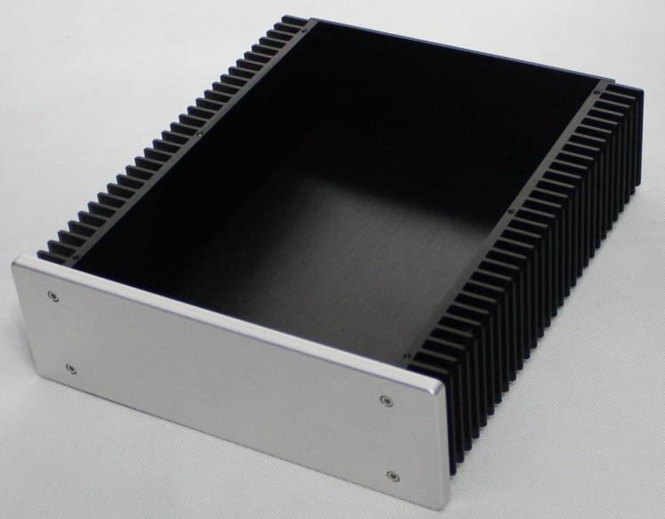 All-Aluminum Power Supply Case DAC Decoder Class A Amplifier DIY Chassis WA92