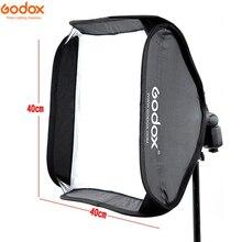 Godox 40x40 سنتيمتر 40*40 سنتيمتر سوفت بوكس طقم حقيبة للكاميرا استوديو فلاش صالح بونز Elinchrom