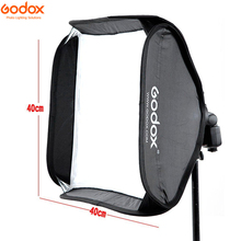 Godox 40x40cm 40*40cm softbox, kit para câmera estúdio flash bowens elinchrom