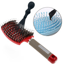 Detangle Hairbrush Women Hair Brush Massage Comb Brush for Hair Hairdressing Tools Curly Wet combing brushes barber hair comb