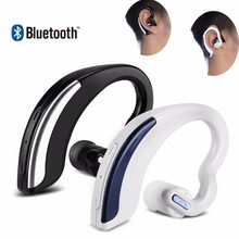 Mini Draadloze Bluetooth Business Oortelefoon Stereo Sport Headset Noise Cancelling Microfoon Handsfree Voor Ios Android Windows(China)