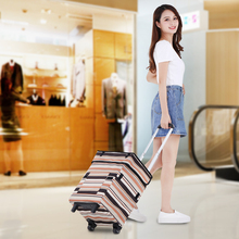 Folding Hand Cart Portable Luggage Cart Shopping Bag Trolley Bag Light Household Artifact Shopping Cart Small Cart