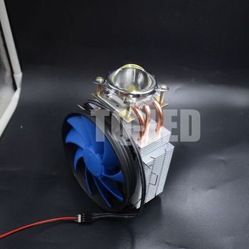 100W High Power Led Radiator with Cooler Reflector Optical Lens Heatsink kit 60 degrees / 90 degrees / 120 degrees фото