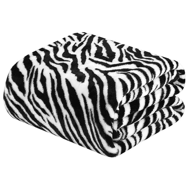 Merrylife Throw Blankets for Sofa bed Pattern Print Striped Cheetah Zebra Home Textile Flannel Plush Soft Travel Oversized 6