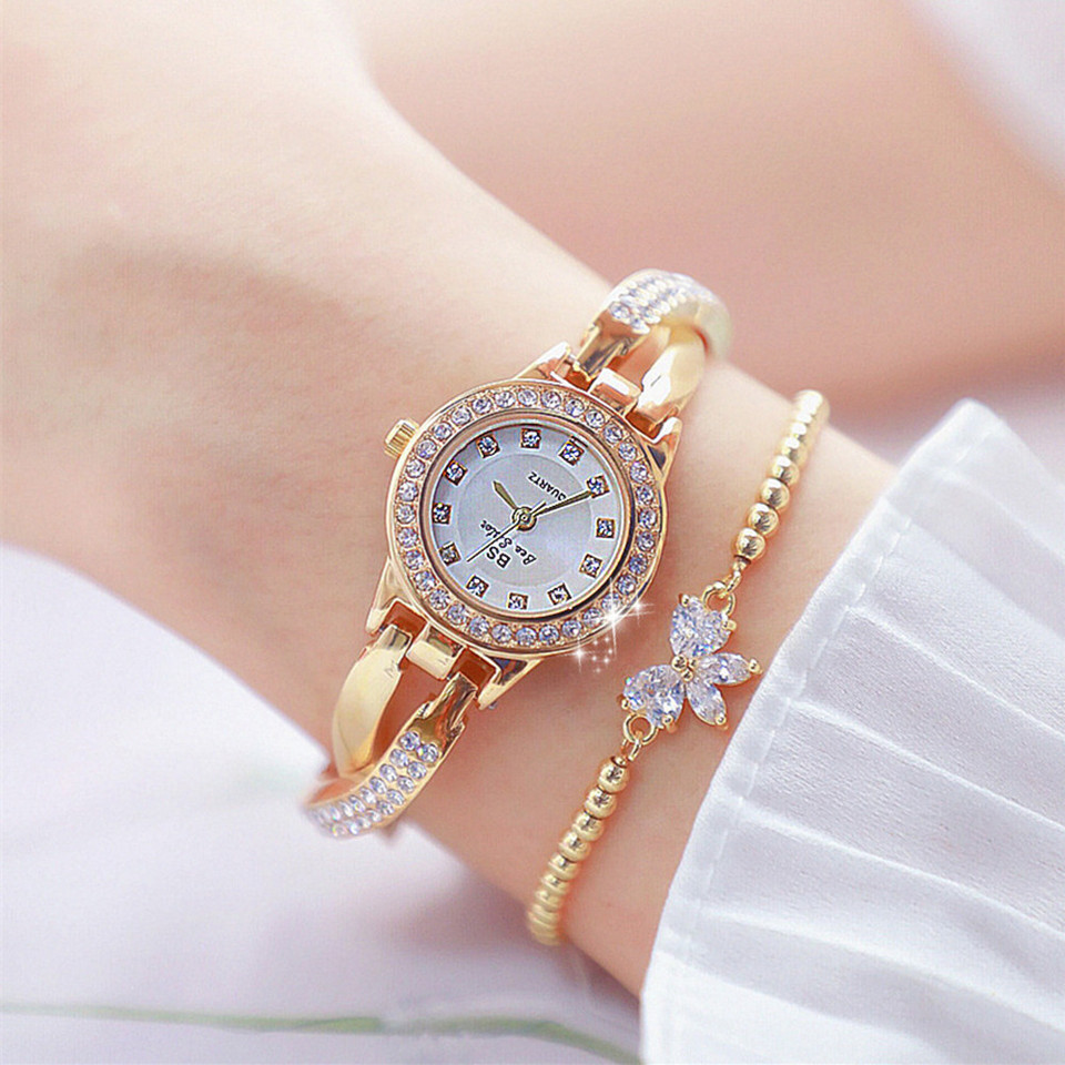 Woman Watches 2020 Famous Brand Dress Female Wrist Watch Stainless Steel Women Wristwatch Rose Gold Ladies Watches Montre Femme