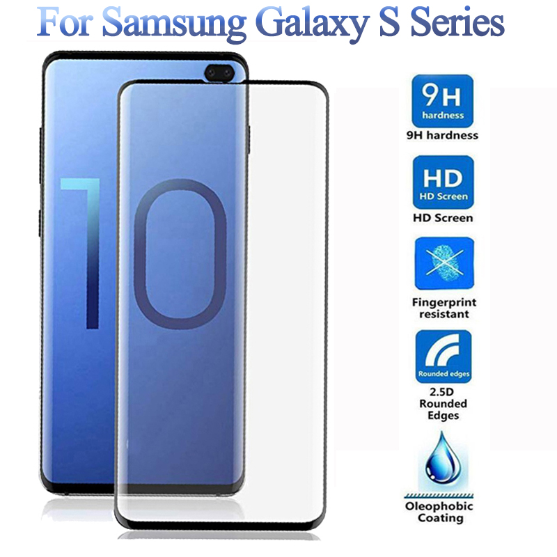 For <font><b>Samsung</b></font> Galaxy S10Plus S10E Tempered Glass <font><b>Screen</b></font> Protector For <font><b>Samsung</b></font> S10 5G S7 S8 <font><b>S9</b></font> <font><b>Plus</b></font> <font><b>Protective</b></font> Glass S7 Edge Film image