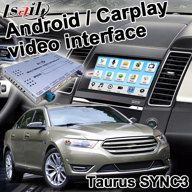 Android / carplay interface box for Ford Taurus GPS navigation video interface SONY SYNC 3 mirror link waze youtube by Lsailt|gps navigation box|navigation box|android gps navigation box - title=