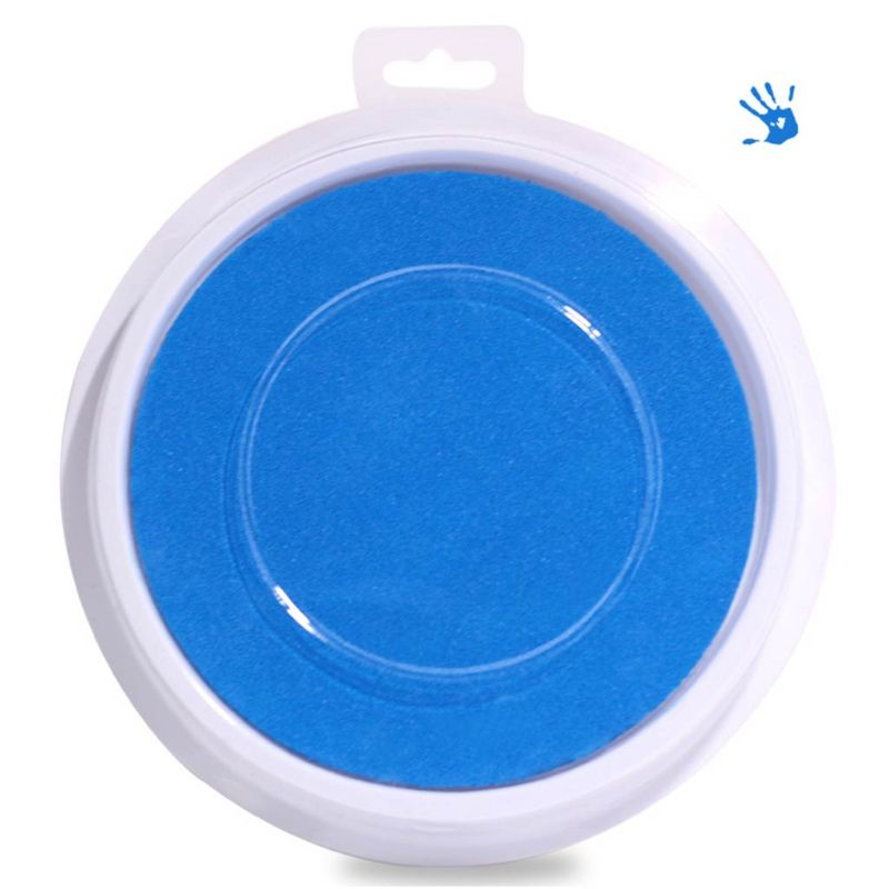Single Color Ink Pad DIY Finger Painting Funny Large Round For Kids Learning Education Drawing Toy Multiple Selection E65D