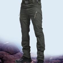 Men's Tactical Pants Multi Pocket Elastic Waist Military Trousers Male Casual Cargo Pants Men Clothing Slim Fit 5XL Sweatpants