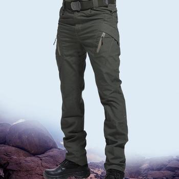 Pantalones tácticos multibolsillos para hombre, pantalón militar elástico, informal, para otoño y primavera, corte ajustado, 5XL