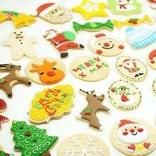 Нержавеющая сталь срезанная форма для конфет, печенья, Рождественская тематика, металлические формочки, снежинка, снег, рождественские формочки для печенья, инструменты для приготовления пищи