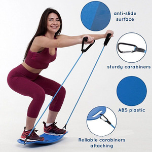 Fitness balance board exercise