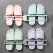 Дырокол Бесплатная ванная комната Тапочки стойки Слива обуви