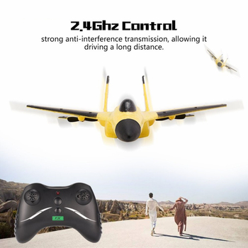 2.4G RC drone Glider Outdoor toys Hand Throwing Fixed Wing Model Foam plane Remote Control Educational Toy Gifts for children