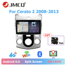 JMCQ For KIA Cerato 2 2008-2013 Car Radio Multimedia Video Player Stereo Split Screen video output 4+64G 2din Android 9.0 player jmcq for kia cerato 2 2008 2013 car radio multimedia video player stereo split screen video output 4 64g 2din android 9 0 player